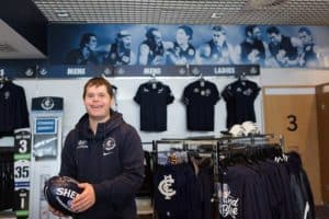 Dan has become a valued member of the team at Carlton Football Club