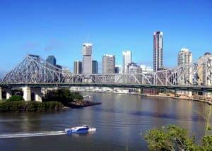 The Brisbane CBD