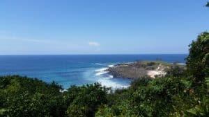 The beach at Yamba