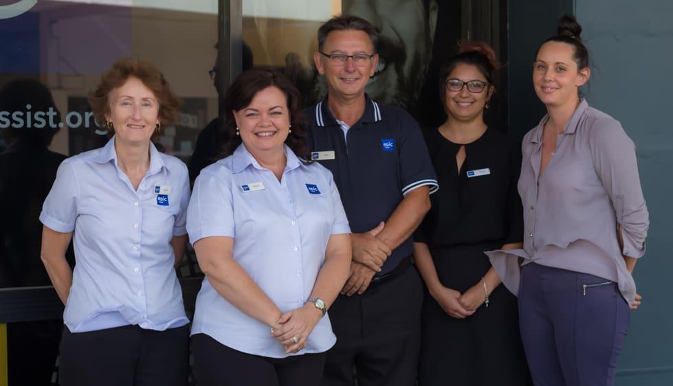 The EPIC Assist Maryborough team