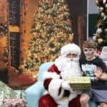 Santa with Brock