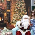 Santa with Lizzie
