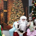 Santa with Cahlya