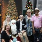 Santa with EPIC participants and staff