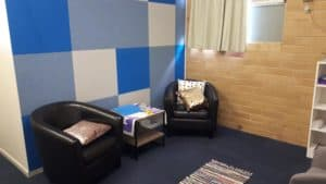 The new counselling room at Hervey Bay Baptist Church, funded by EPIC's Community Grant program