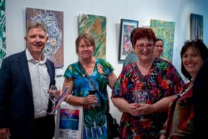 Artists with disability at the 2018 EPIC annual art exhibition